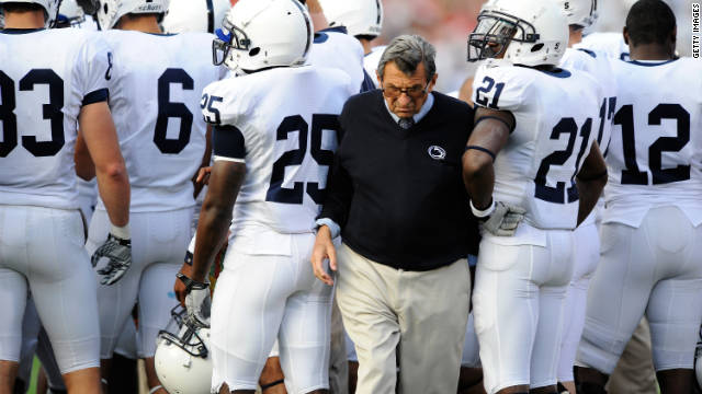 Joe Paterno was fired after scandal for &#039;failure of leadership,&#039; Penn State trustees say