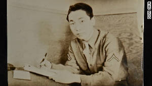 Don Oka serving during World War II.