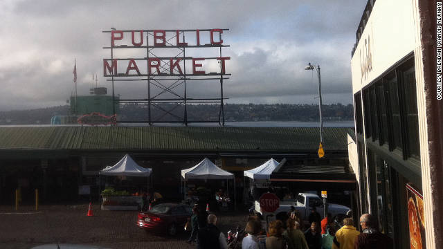 Grey days in Seattle show off the city's charms.