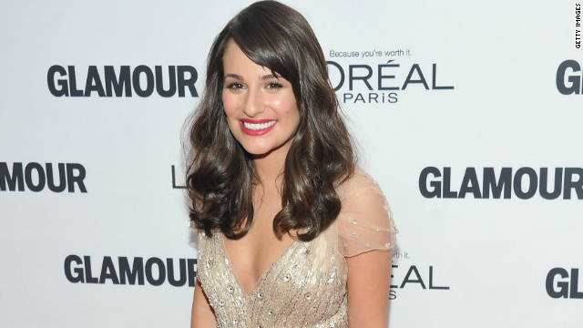 Lea Michele on being a sex scene virgin