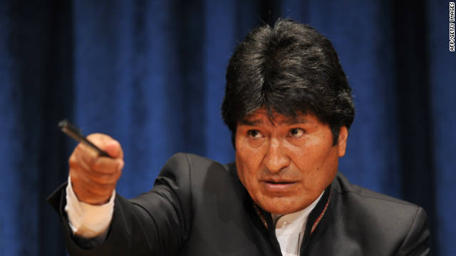 Bolivia's Morales to UN: Legalize coca-leaf chewing