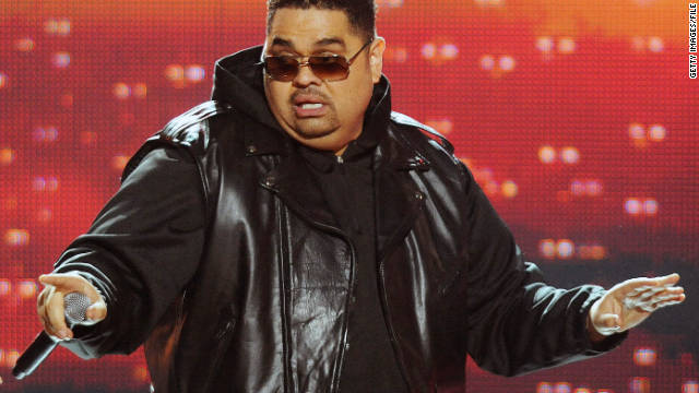 Rapper Heavy D performs at the BET Hip Hop Awards 2011 on October 1 in Atlanta.