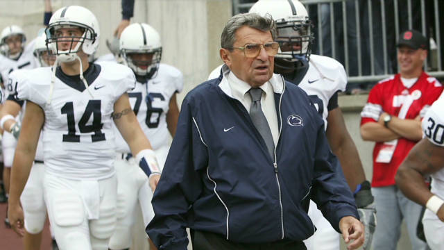 Joe Paterno to retire at season's end