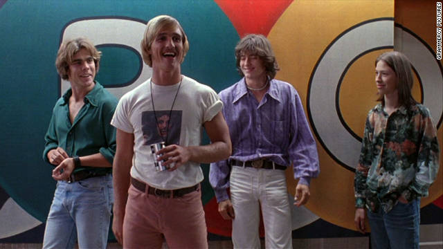 """Dazed and Confused"" is another high school comedy that practically begs for a musical adaptation. The seniors could make the incoming freshman sing and dance rather than covering them in condiments and forcing them to chew on pacifiers."