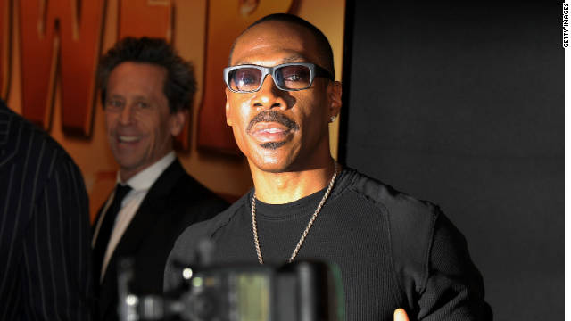 Eddie Murphy, shown here at the premiere of his new film 
