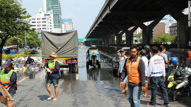 The pumping stations are the front line in the fight to protect central Bangkok.