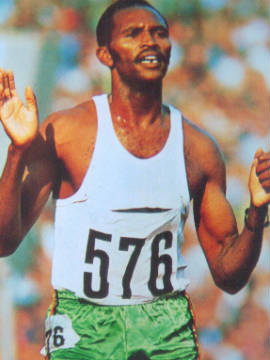 Keino's success led to him becoming a Kenyan national hero as well as a figure admired across the African continent.