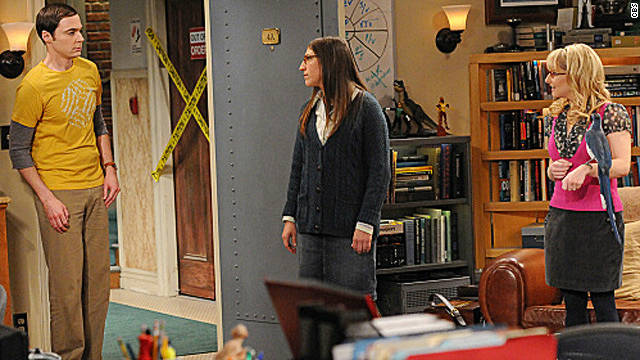 Sheldon vs. the bird on 'The Big Bang Theory'