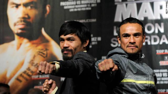 Pacquiao vs Márquez: lucha de titanes por el título mundial welter de boxeo