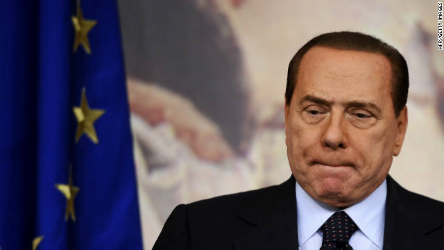Italy's longtime prime minister, Silvio Berlusconi, stepped down in the wake of the eurozone crisis.