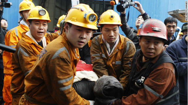 china mine explosion kills 19