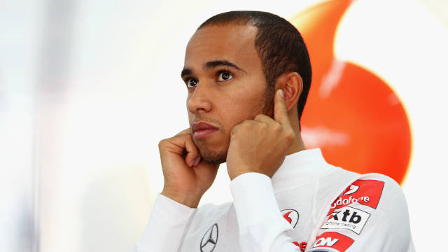Lewis Hamilton won the 2008 Formula One drivers' championship but is fifth this season.