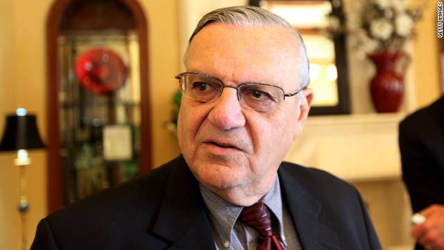 GOP presidential hopefuls are going out of their way to court Joe Arpaio, the controversial sheriff of Maricopa County, Arizona.