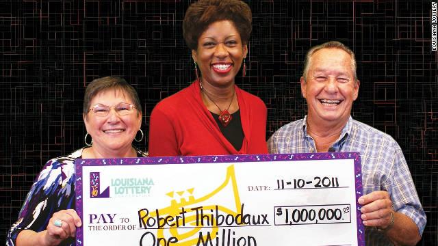 $1M winner credits cashier's mistake