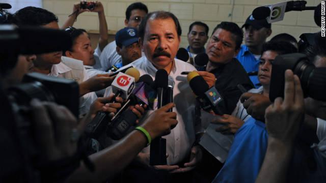 """EE.UU. insiste en que las elecciones en Nicaragua """"no fueron transparentes"""""""