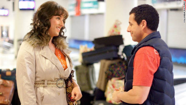 Adam Sandler could clean up at the Razzie Awards