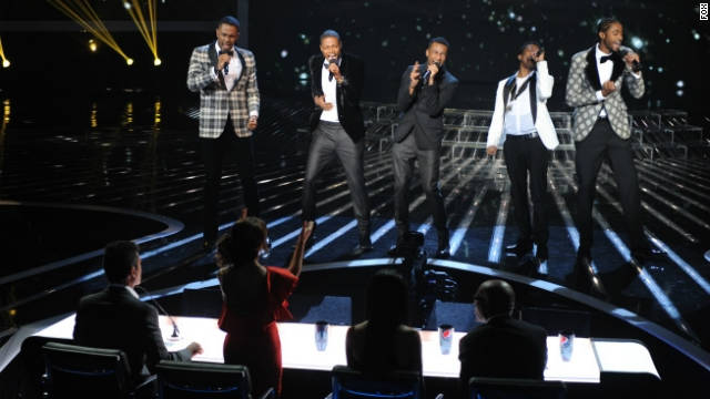 'X Factor' shows another act the door