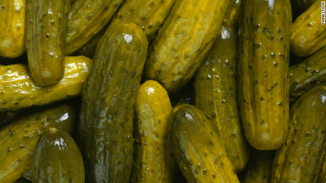 Breakfast buffet: National pickle day