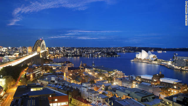 There's one killer view in Sydney; it takes in Circular Quay, with the Opera House on one side and the Harbour Bridge on the other.
