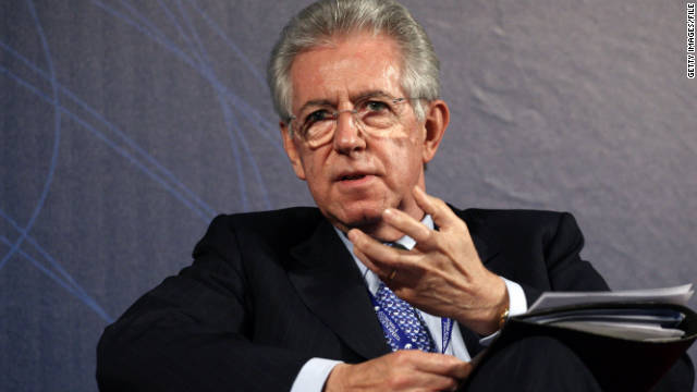 Mario Monti officially appointed Italy's prime minister