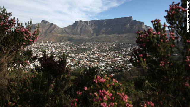 table mountain 7 wonders of nature