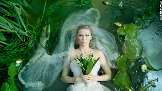 Kirsten Dunst plays a troubled bride in the film