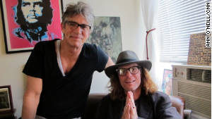Actor Eric Roberts, left, calls sobriety counselor Bob Forrest \