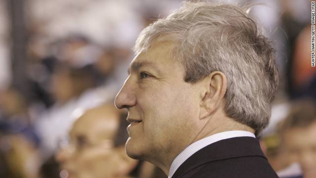 Former Penn State president arraigned in Sandusky scandal