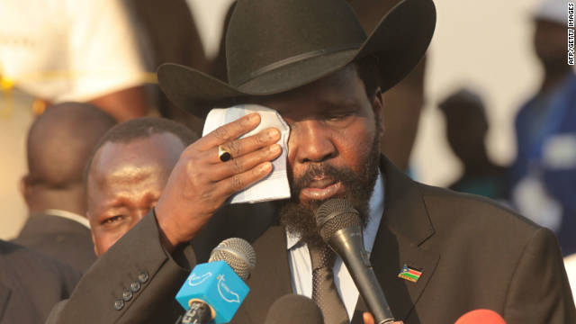 South Sudan's President Saliva Kiir Mayardit said Sudan was threatening the sovereignty of South Sudan