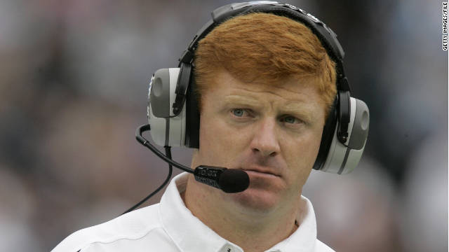 Penn State assistant coach Mike McQueary has been criticized for not calling police, but he has not faced any legal charges.