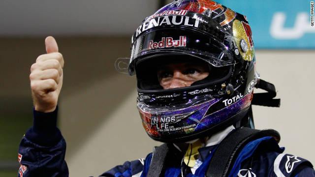 """Vettel iguala el récord de """"poles"""" de Nigel Mansell en una misma temporada"""