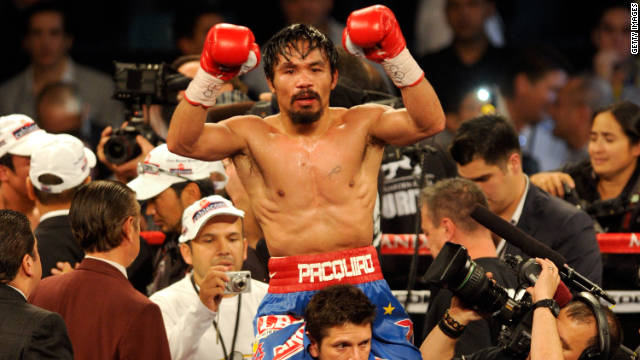Manny Pacquiao, el &quot;rockstar&quot; del boxeo mundial