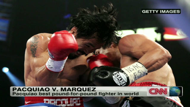 Pacquiao derrota a Márquez en una polémica decisión de los jueces