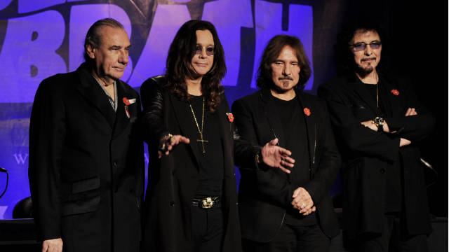 The original members of Black Sabbath announced that they will reunite to tour in 2012 and release a new album.