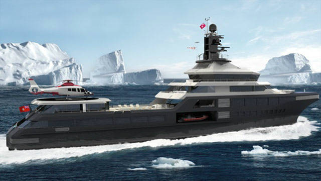 PJ World has ice-operating capability allowing it to travel in all waters across the world.