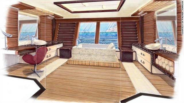 At 82 meters long, there is plenty of space onboard to accommodate family and guests.