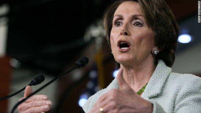 Rallying delegates, Pelosi fires off on GOP