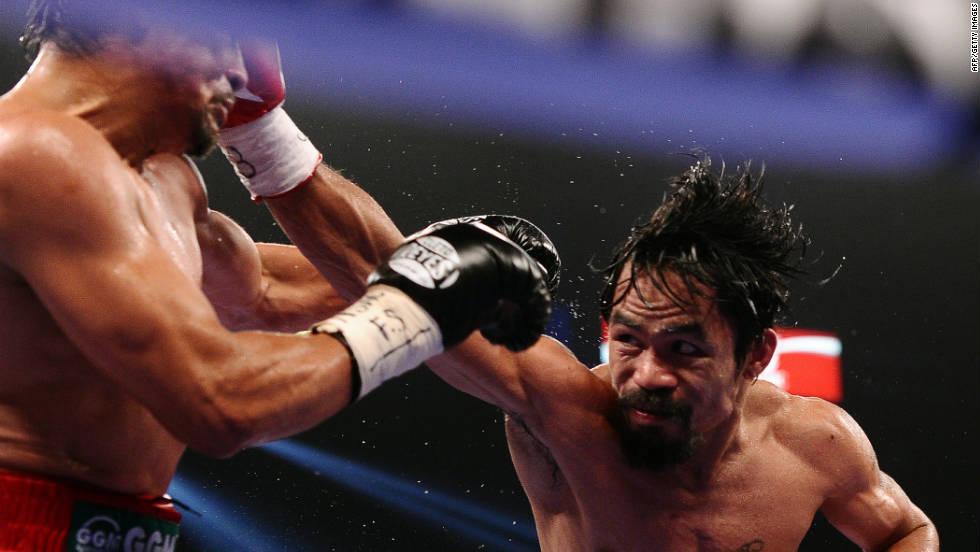 Los mejores golpes de la pelea Pacquiao vs. Márquez