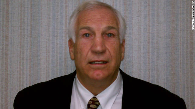 CNN sends letter to Penn State to release Sandusky files