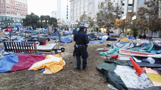 """El movimiento """"Ocupa Wall Street"""", ¿fuera de control?"""