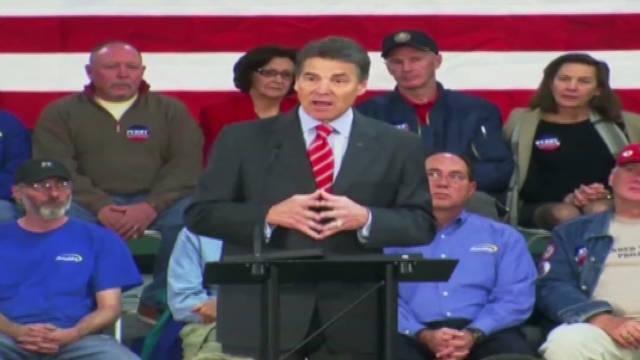 Verificación de ciudadanía causa polémica en un evento de Rick Perry