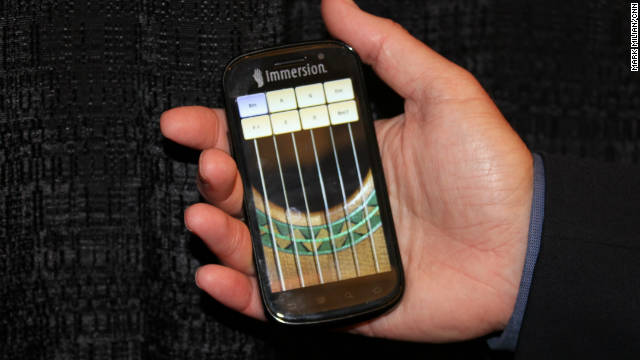 Cell phones soon will produce more-nuanced vibrations