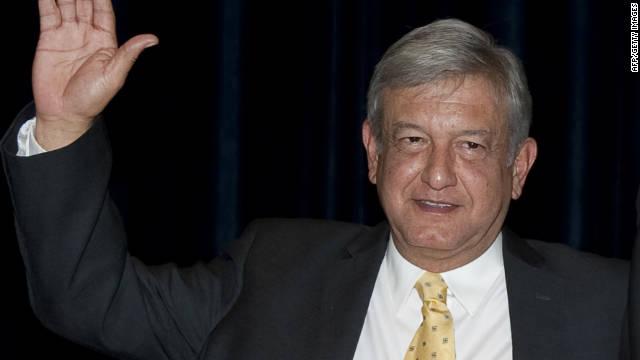 Andrés Manuel López Obrador es el candidato del PRD para el 2012