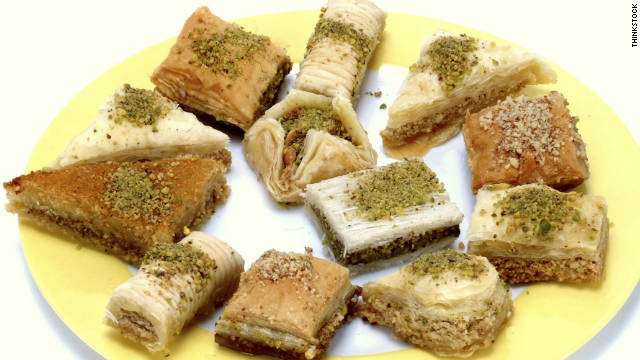 Breakfast buffet: National baklava day