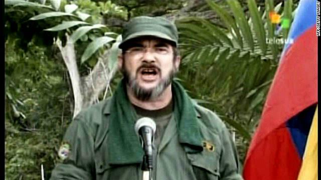 Jefe de FARC dice que revelará informe sobre diálogos con el gobierno de Colombia