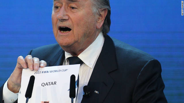 In December 2010, Blatter was heavily criticized for suggesting gay football fans should &quot;refrain from sexual activity&quot; if they wished to attend the 2022 World Cup in Qatar, where homosexuality is illegal. Blatter later apologized and said it had not been his intention to offend or discriminate.