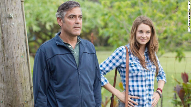 Shailene Woodley's rapport with George Clooney is one of the things that makes this film go.