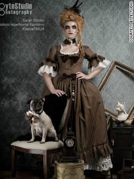 Design by Kristine Hawthorne, Helene Hawthorne Fashions.