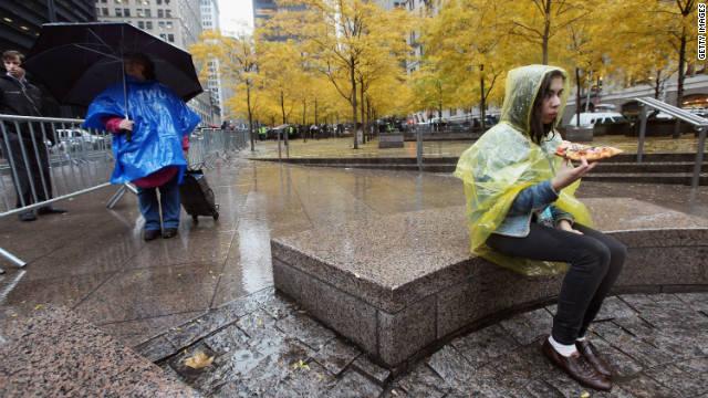 Occupy Wall Street: Homeless but not hopeless