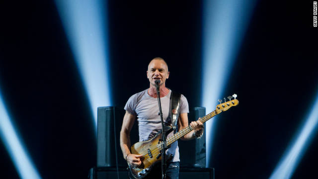 Sting's career? There's an app for that